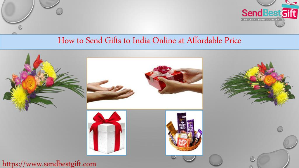 Ppt How To Send Gifts To India Online At Affordable Price