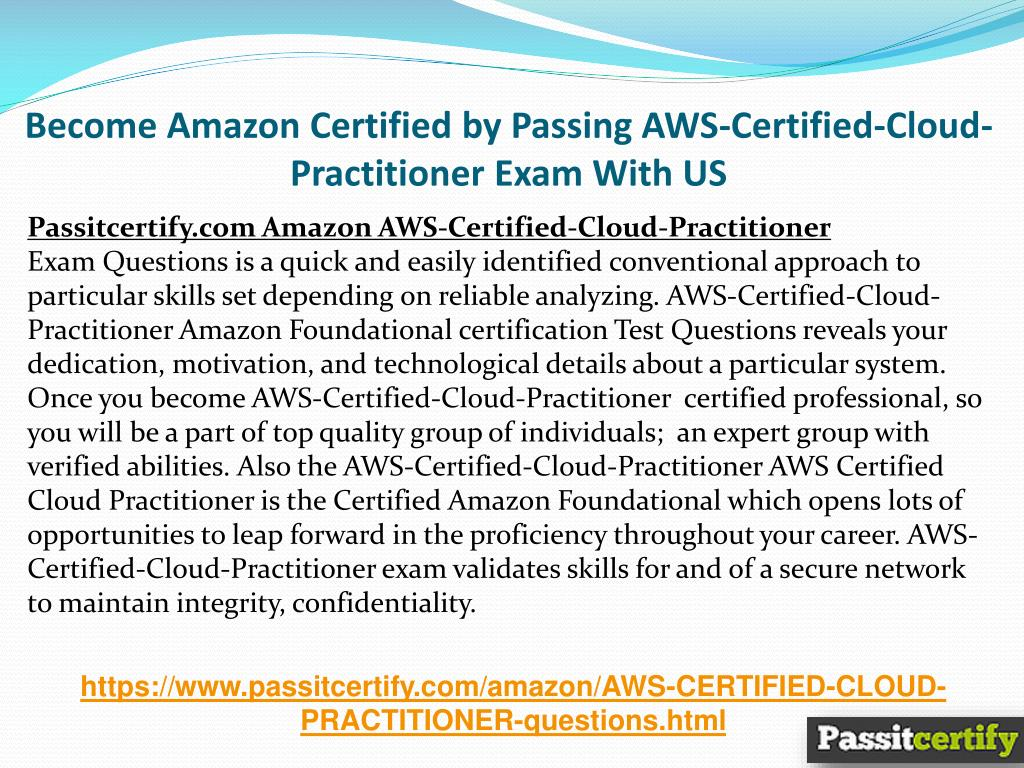 PPT - AWS-Certified-Cloud-Practitioner Amazon Exam Questions (April