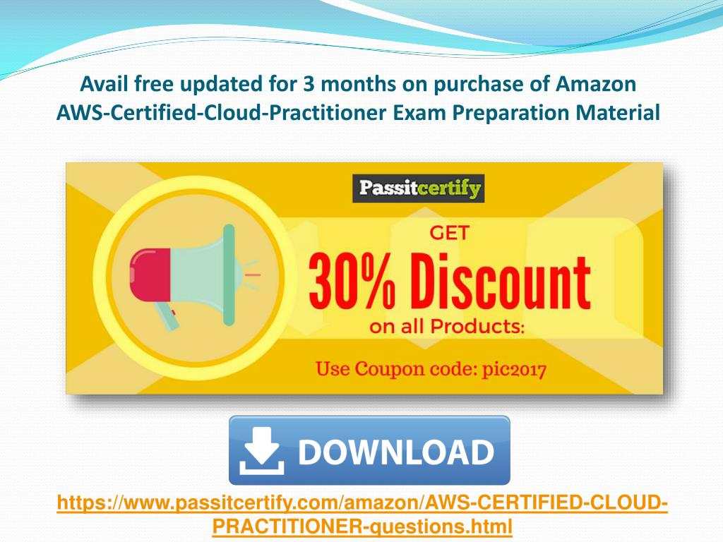 PPT - AWS-Certified-Cloud-Practitioner Amazon Exam Questions