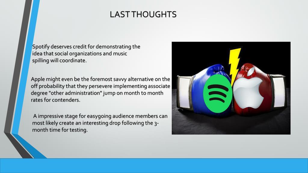 PPT - Apple Vs Spotify PowerPoint Presentation - ID:7848987