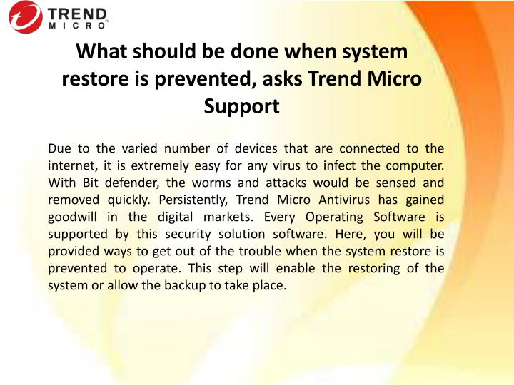 what should be done when system restore n.