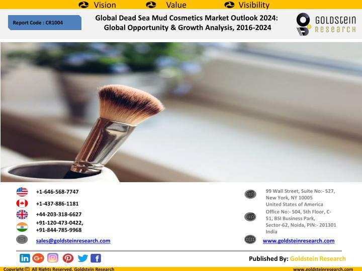PPT - Global Dead Sea Mud Cosmetics Market Outlook 2024