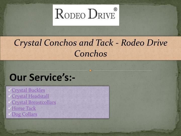 crystal conchos and tack rodeo drive conchos n.