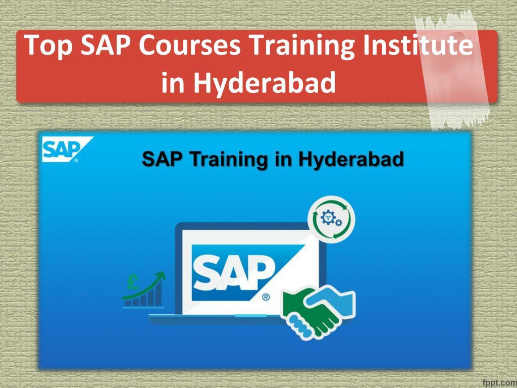 PPT - SAP Online Training Institute in Hyderabad, SAP