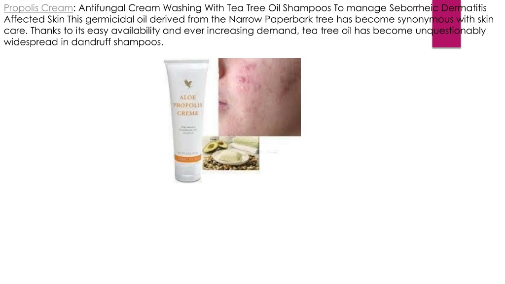 PPT - PROPOLIS Antifungal CREAM WITH ALOE VERA BEESWAX AND