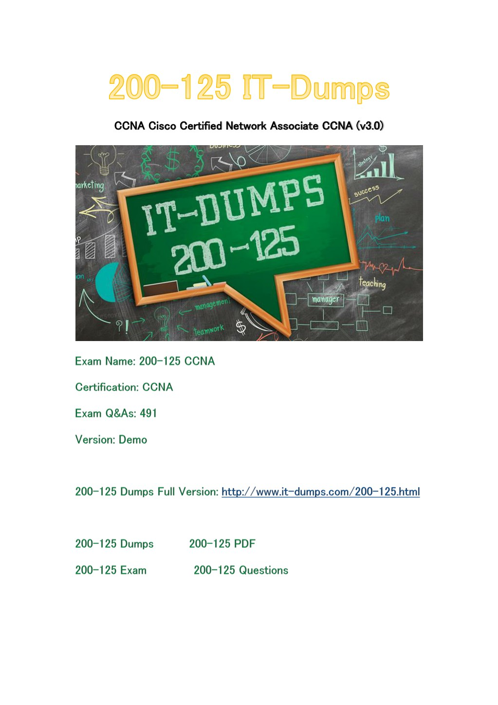 Ppt the latest cisco 200-125 exam study guide and free dumps.