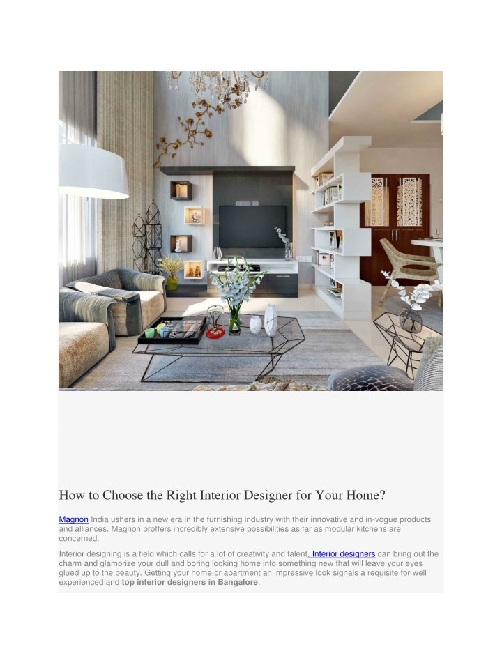 how to choose the right interior designer n.