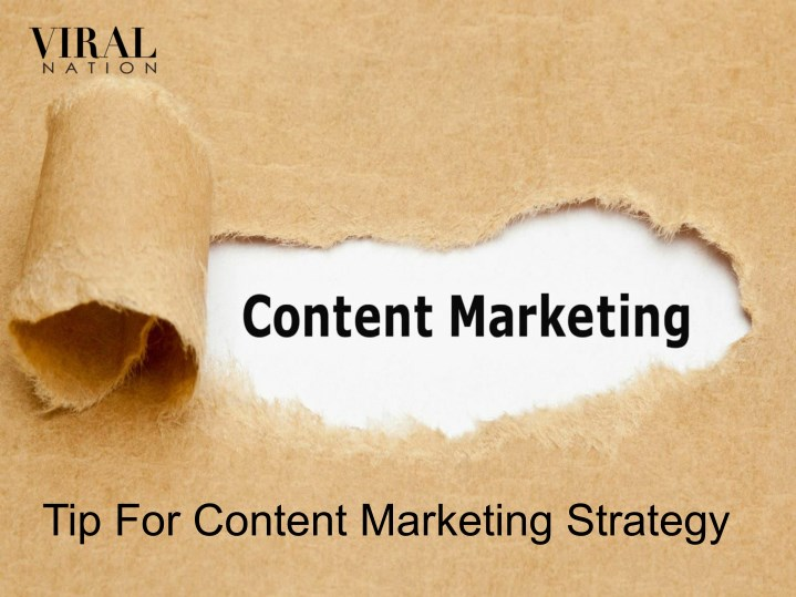tip for content marketing strategy n.