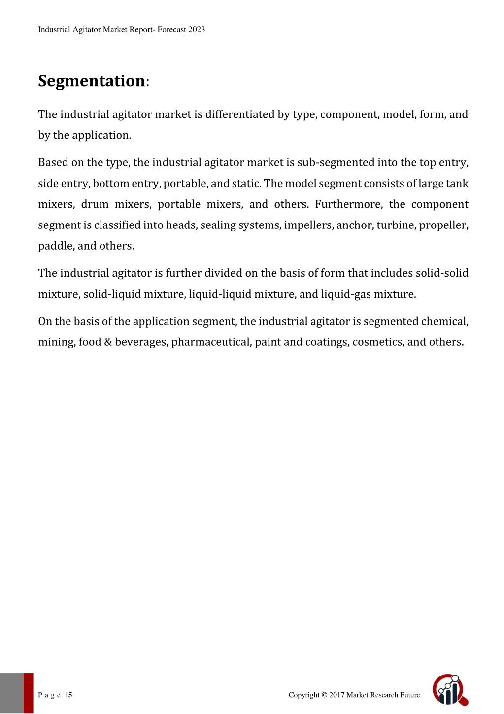 PPT - Industrial Agitator Market PowerPoint Presentation