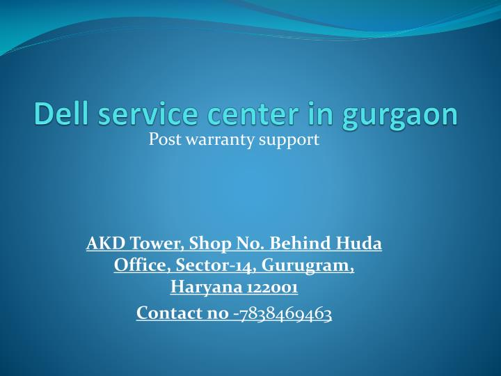 dell service center in g urgaon n.