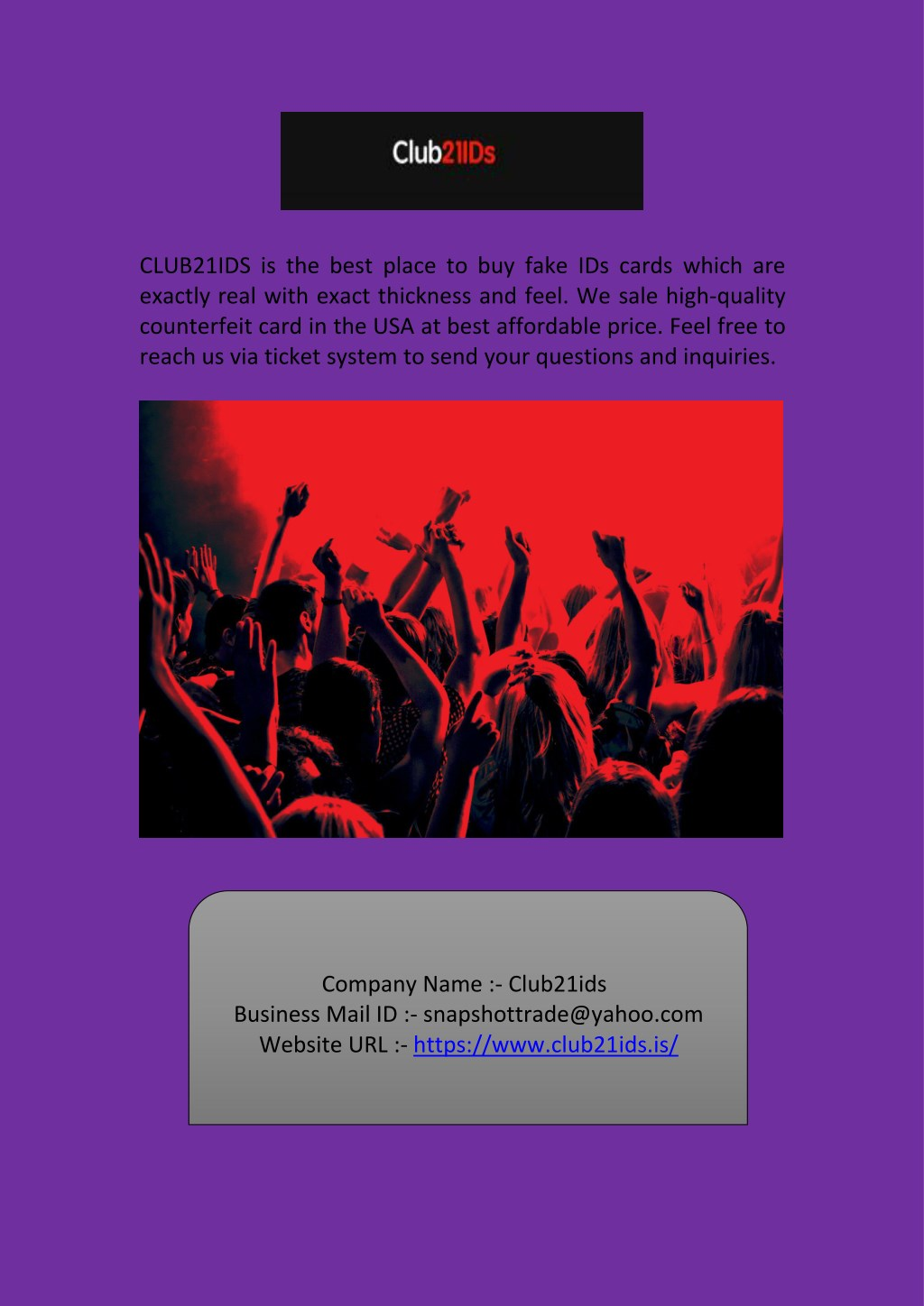 Ppt Buy Novelty Fake Id Cards Online At Club21ids Powerpoint