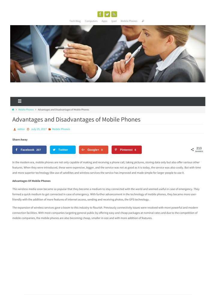 PPT - Advantages and Disadvantages of Mobile Phones PowerPoint
