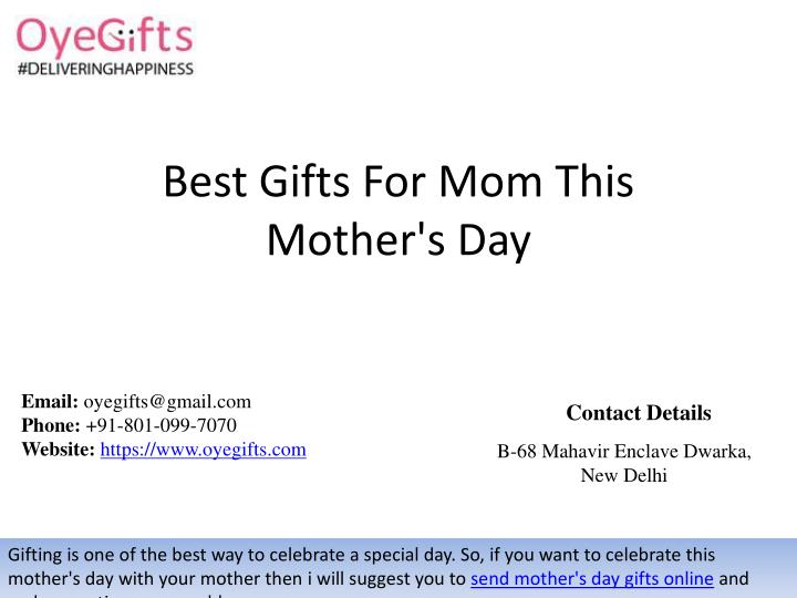 Best Gifts For Mom Thismother S Day