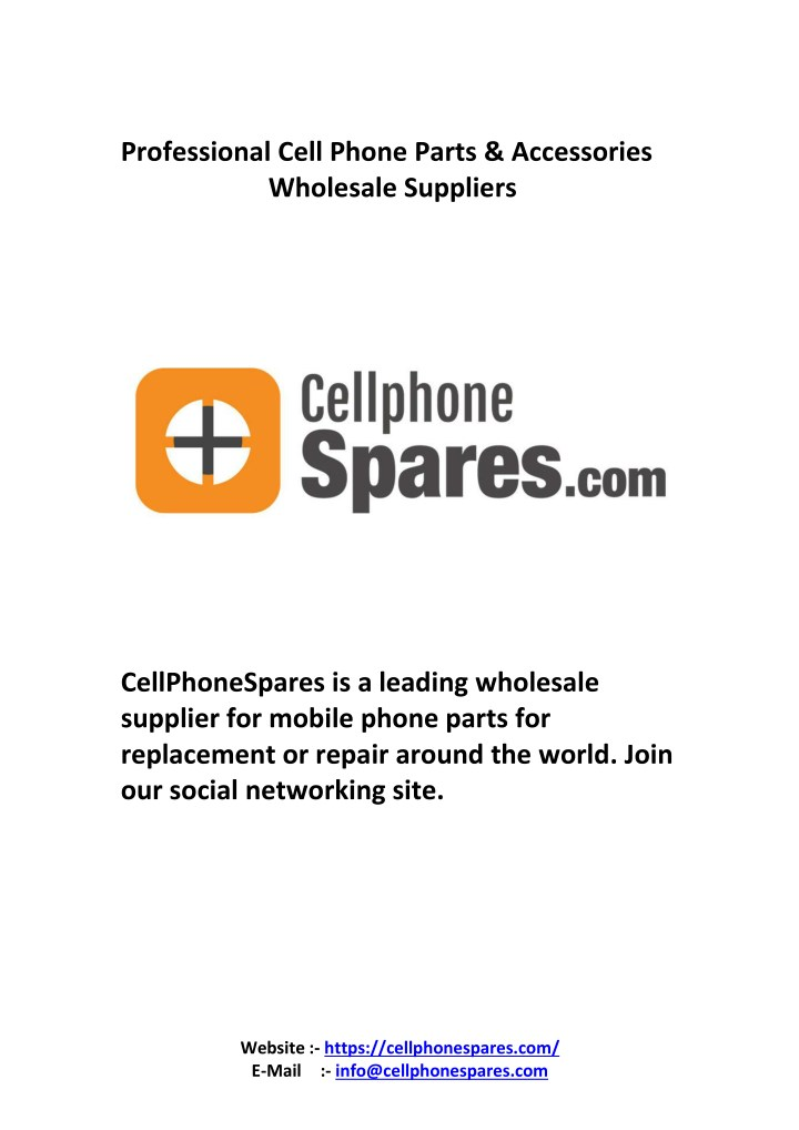 professional cell phone parts accessories n.