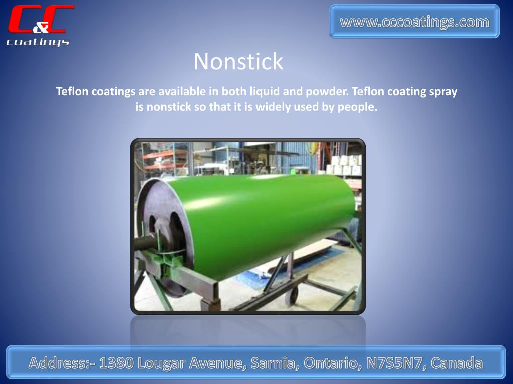 PPT - Why Teflon Coating Spray is More Popular Among All