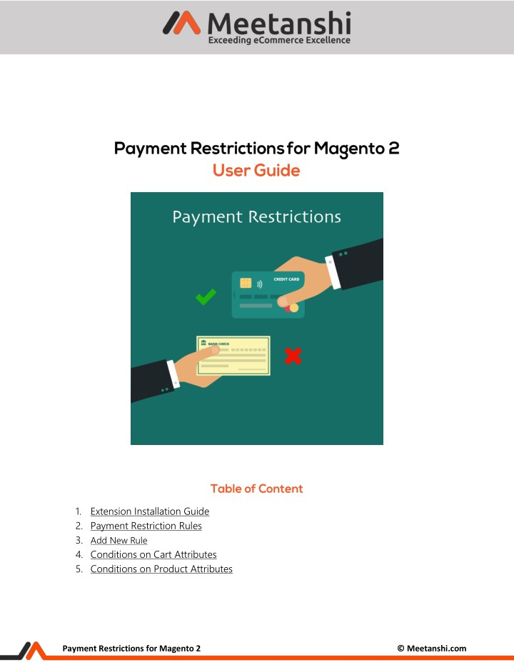 1 extension installation guide 2 payment n.