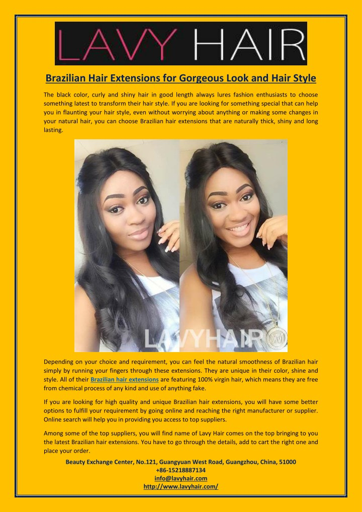 brazilian hair extensions for gorgeous look n.