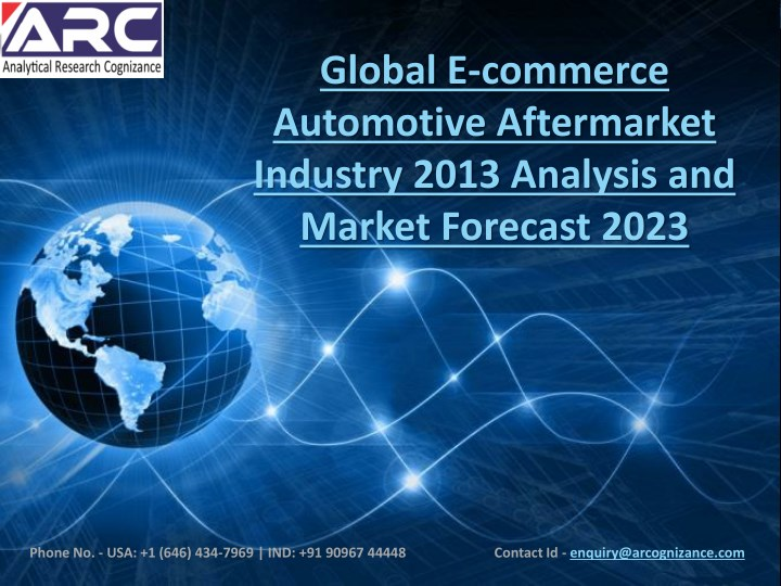 global e commerce automotive aftermarket industry n.