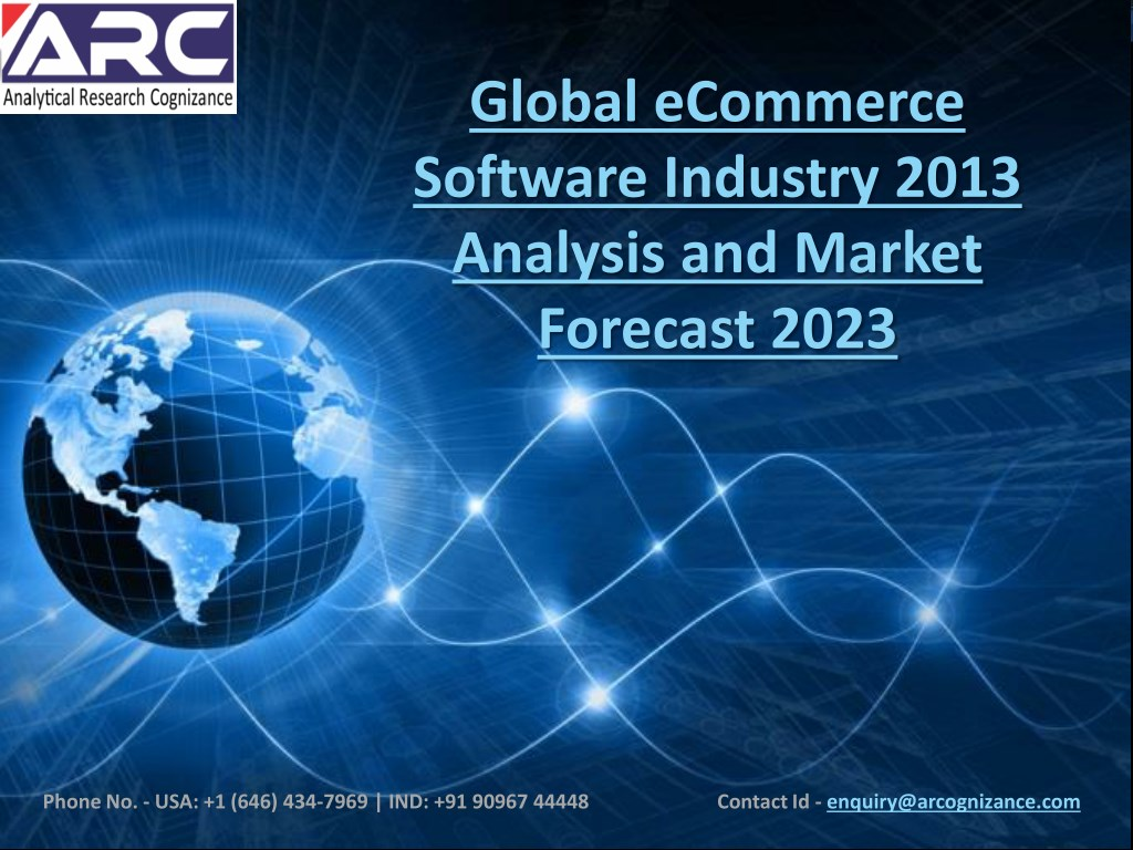 Ppt ecommerce software market current trends and future growth.