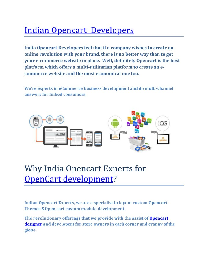 PPT - Indian opencart Experts PowerPoint Presentation - ID