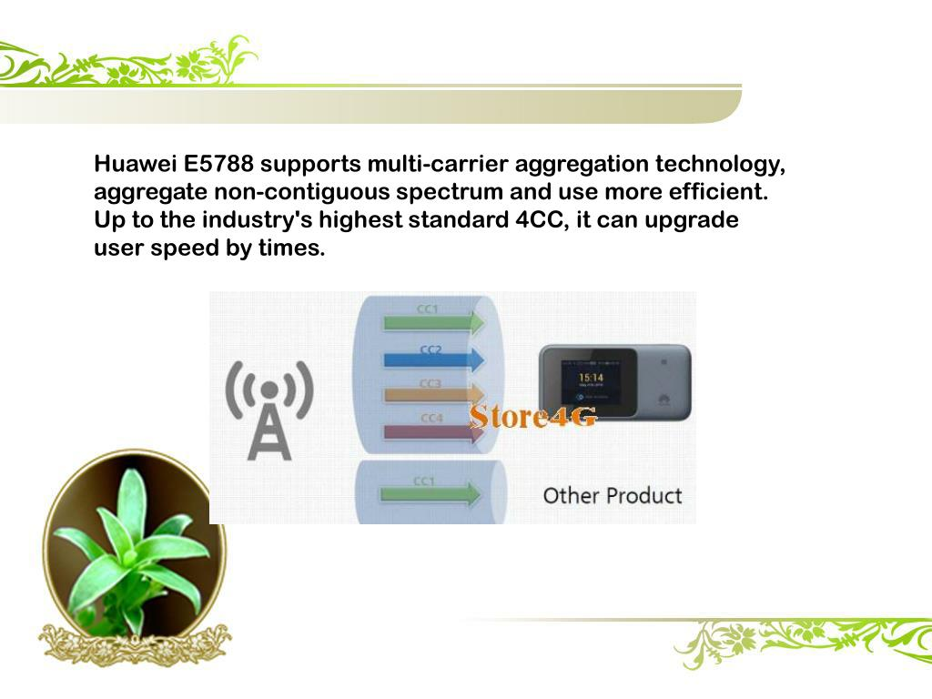 PPT - Huawei E5788 Mobile WiFi Review PowerPoint