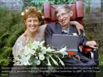 stephen hawking and his new bride elaine mason