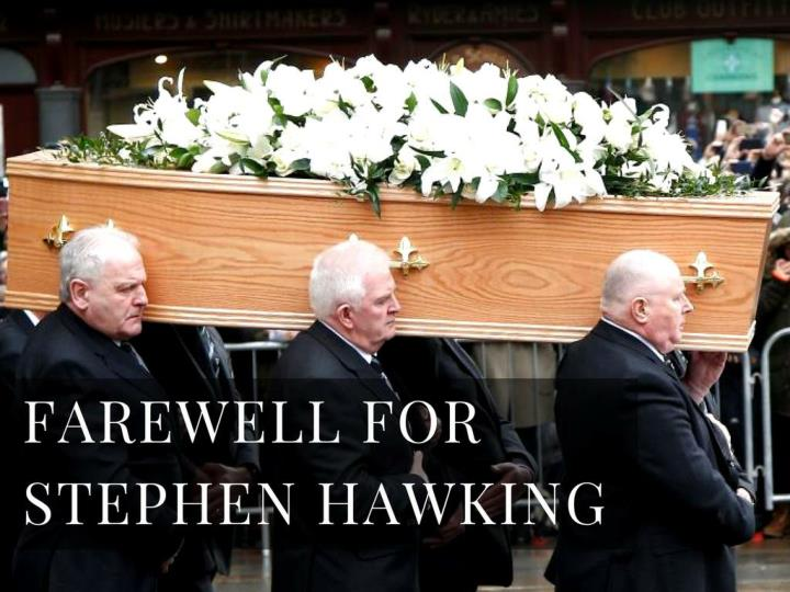 farewell for stephen hawking n.