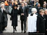 jane hawking and her son timothy arrive at great