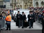 the funeral cortege arrives at great st marys 1