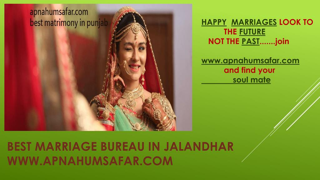 PPT - best marriage bureau in jalandhar PowerPoint
