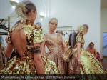 models get ready for a show backstage reuters