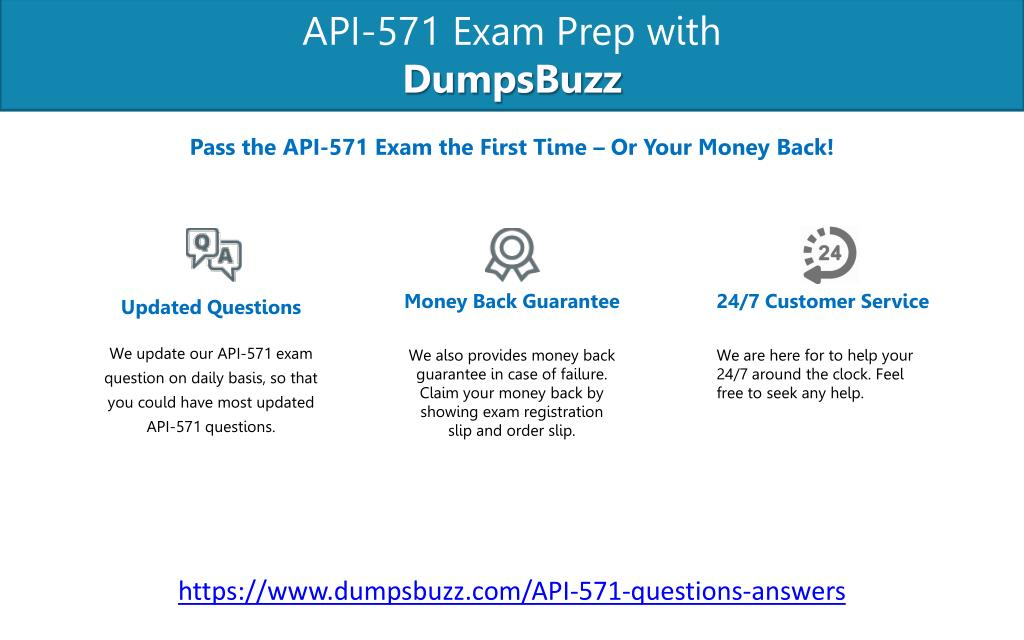 PPT - Improve Your API-571 Test Score with API-571 VCE test