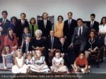 a bush family portrait in houston texas july
