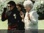 michael jackson l and first lady barbara bush