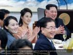 north korean leader kim jong un applauds with