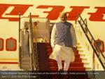 prime minister narendra modi arrives