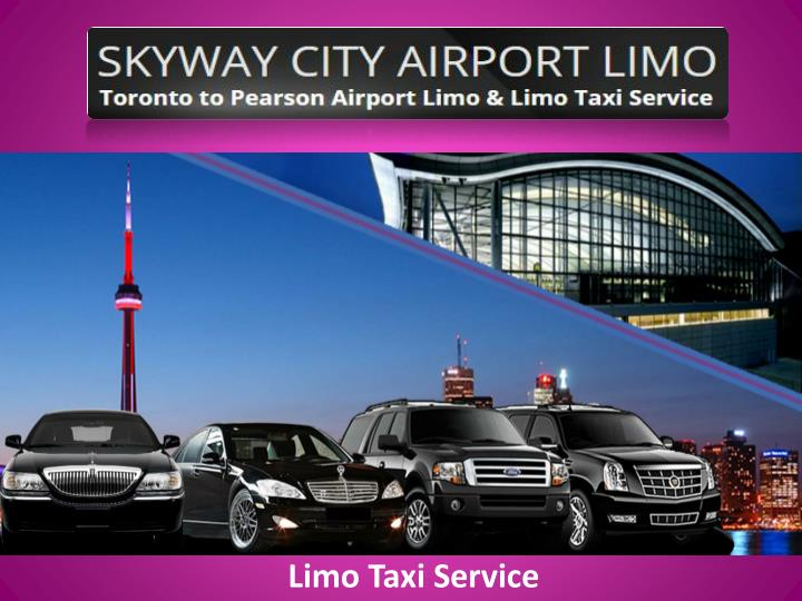 limo taxi service n.