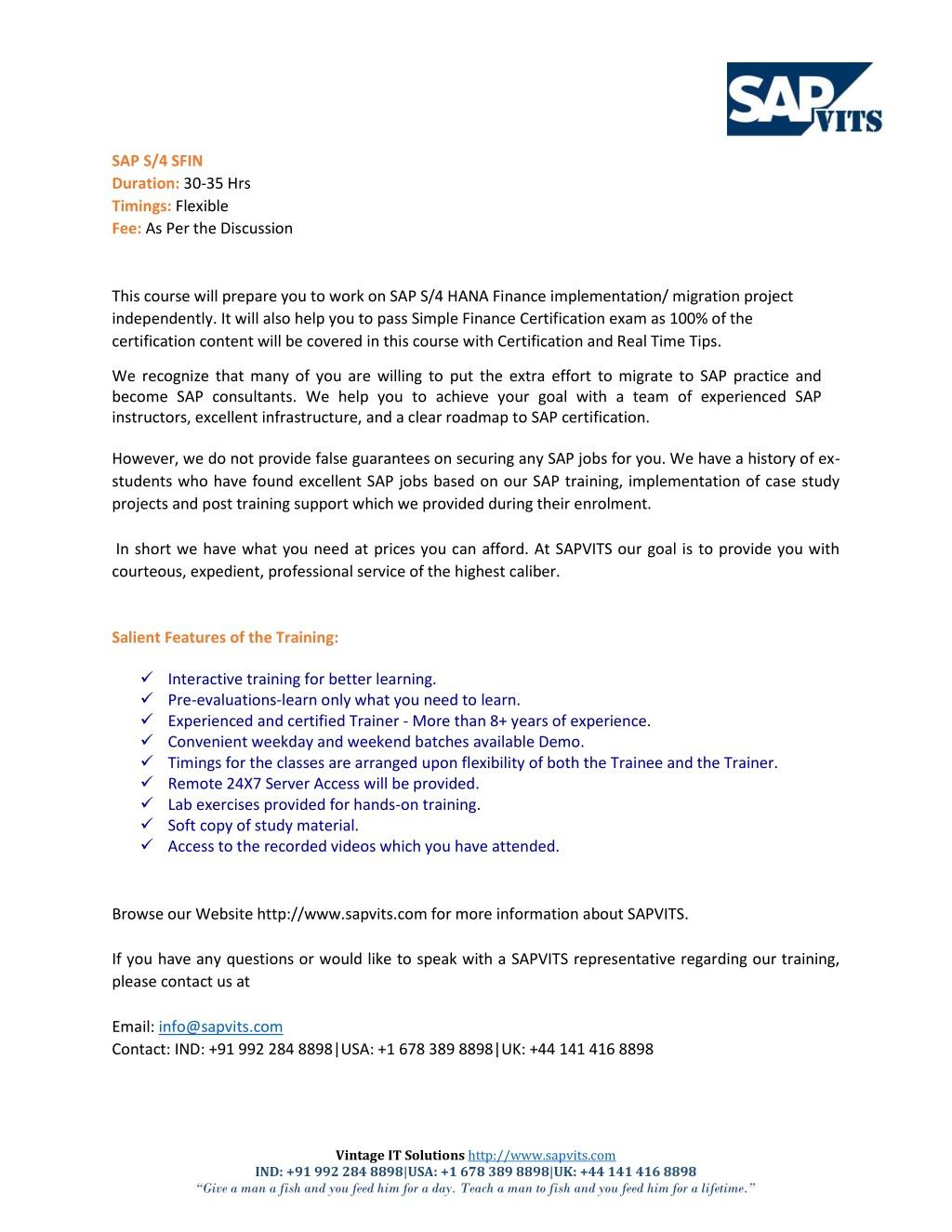 Ppt Sap Simple Finance Course Content Pdf Powerpoint Presentation