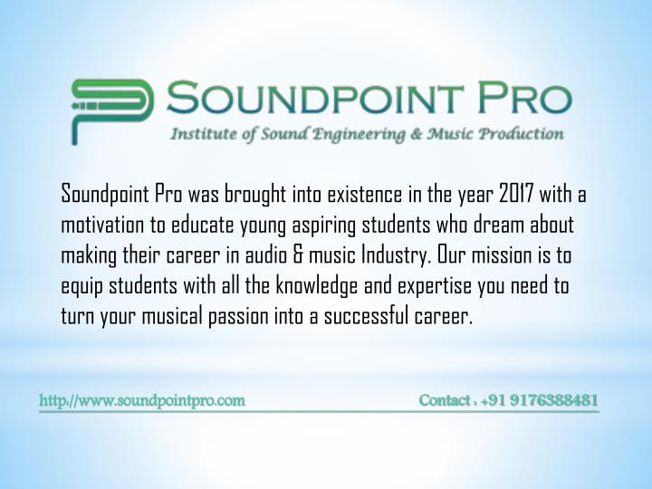 soundpoint pro was brought into existence n.