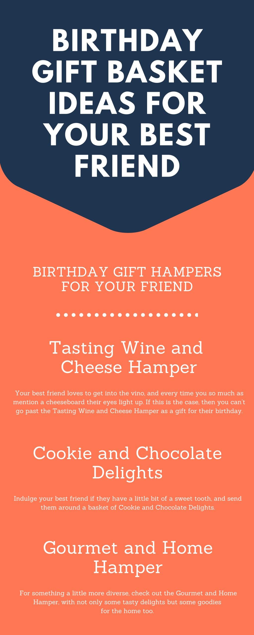 Birthday Gift Basket Ideas For Your Best Friend N