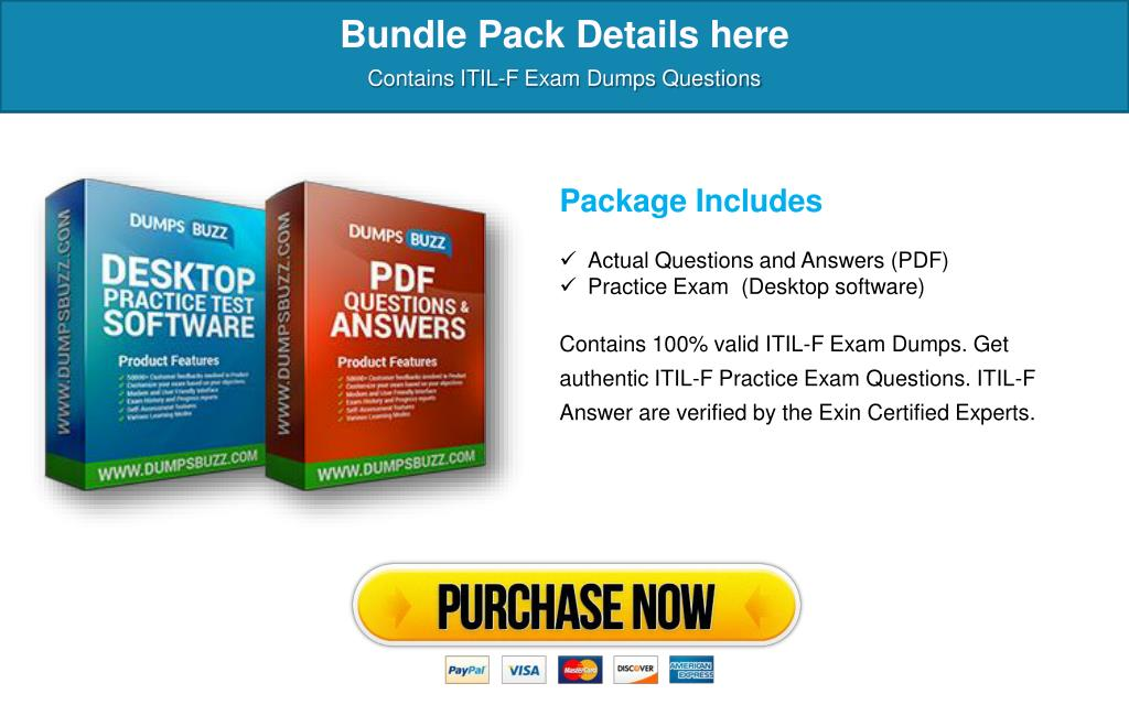 PPT - The best way to Pass ITIL-F Exam with VCE new questions
