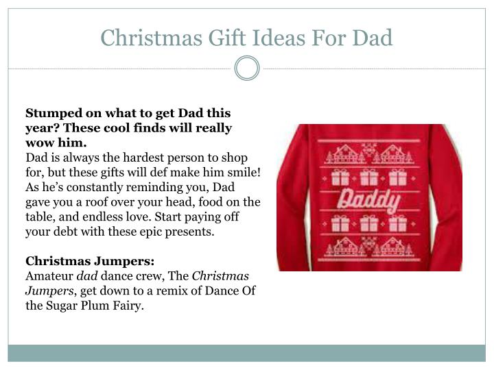 christmas gift ideas for dad n.