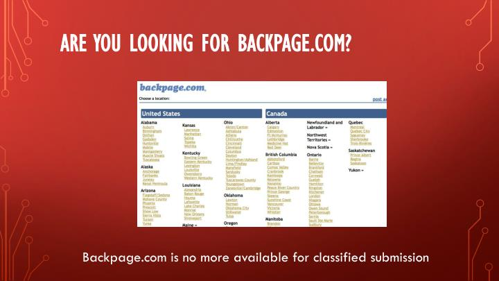 backpage adult replacement