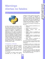 warnings alertas no fatales