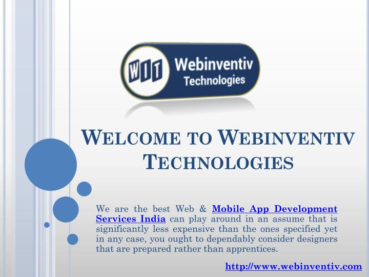 welcome to webinventiv technologies n.