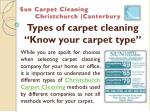 types of carpet cleaning know your carpet type
