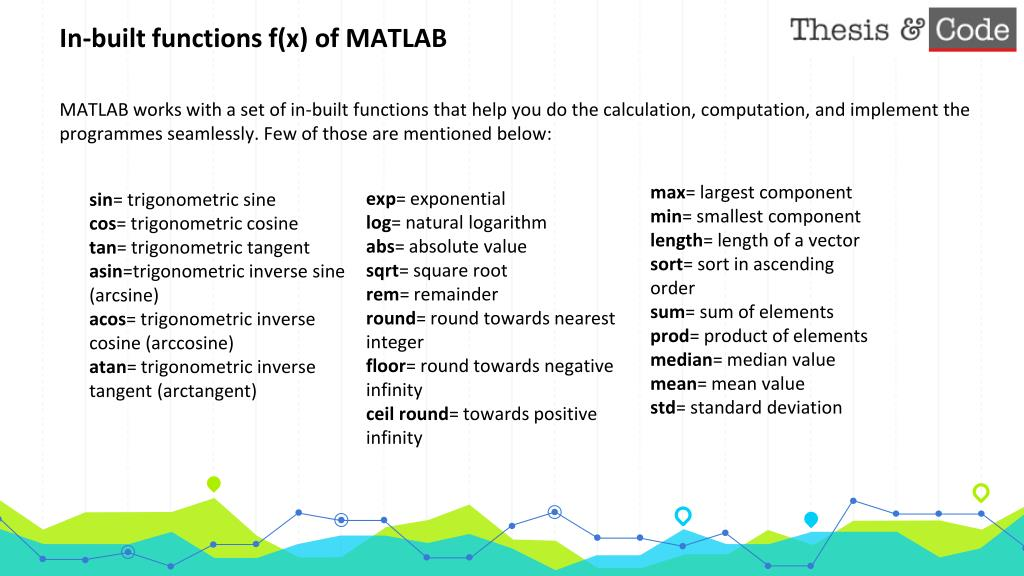 PPT - BASICS OF MATLAB (Mathematical Laboratory) PowerPoint