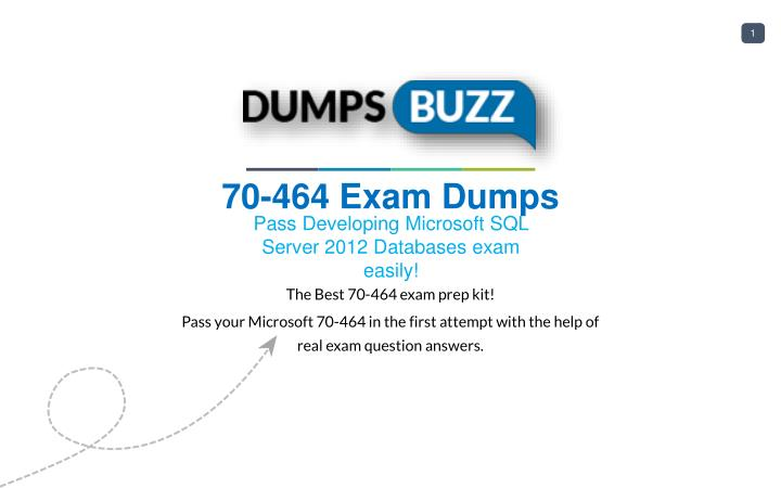 Ppt Mind Blowing Real Microsoft 70 464 Vce Test Questions