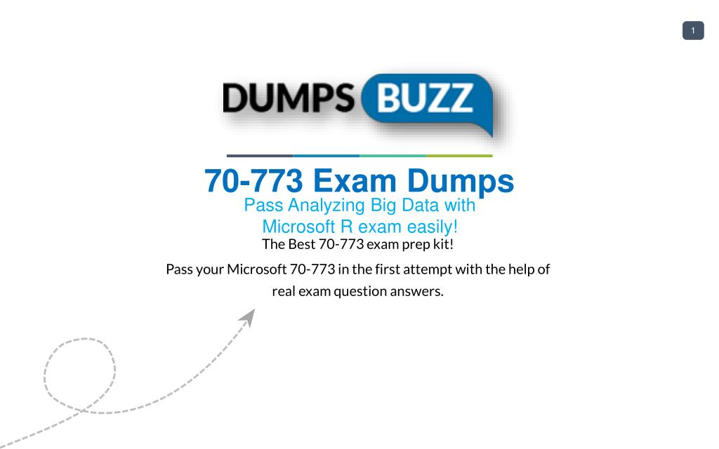 Ppt Purchase Latest 70 773 Exam Sample Questions Vce With Pdf