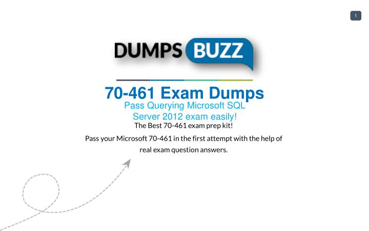 Ppt New 70 461 Vce Exam Questions With Free Updates Powerpoint